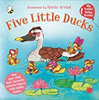 Five little ducks for your Indian baby