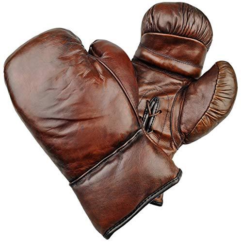 Bagger Vance Retro Leder Boxhandschuhe