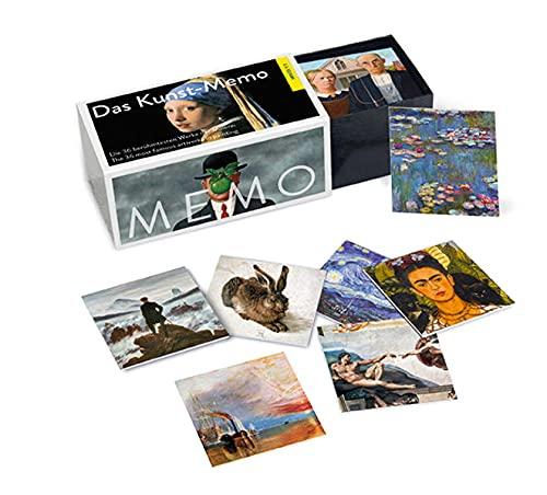 Das Kunst-Memo   The Art Matching Game: Die 36 berühmtesten Werke der Malerei   The 36 Most Famous Paintings