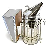 CO-Z Bee Smoker, Stainless Steel Beehive Smoker with Heat Shield...