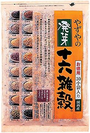 【やずや公式】発芽十六雑穀 お徳用サイズ 25g×30小袋入り