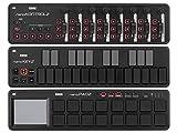 KORG コルグ - USB MIDIコントローラー nano2 シリーズ nanoKONTROL2 nanoKEY2 nanoPAD2 3機種セット BK ブラック