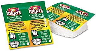 NEW - Coffee, Classic Roast Decaffeinated, 9/10 oz. Packet, 42/Carton - 6927 by Folgers