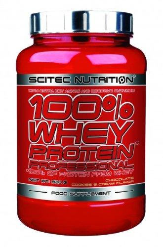 Scitec Nutrition 100{e5f3260c2b693d29daa19e6b0dd9954343be18416ab26298abf24a6056e80e16} Whey Protein Professional 920g Choco Cookies & Cream