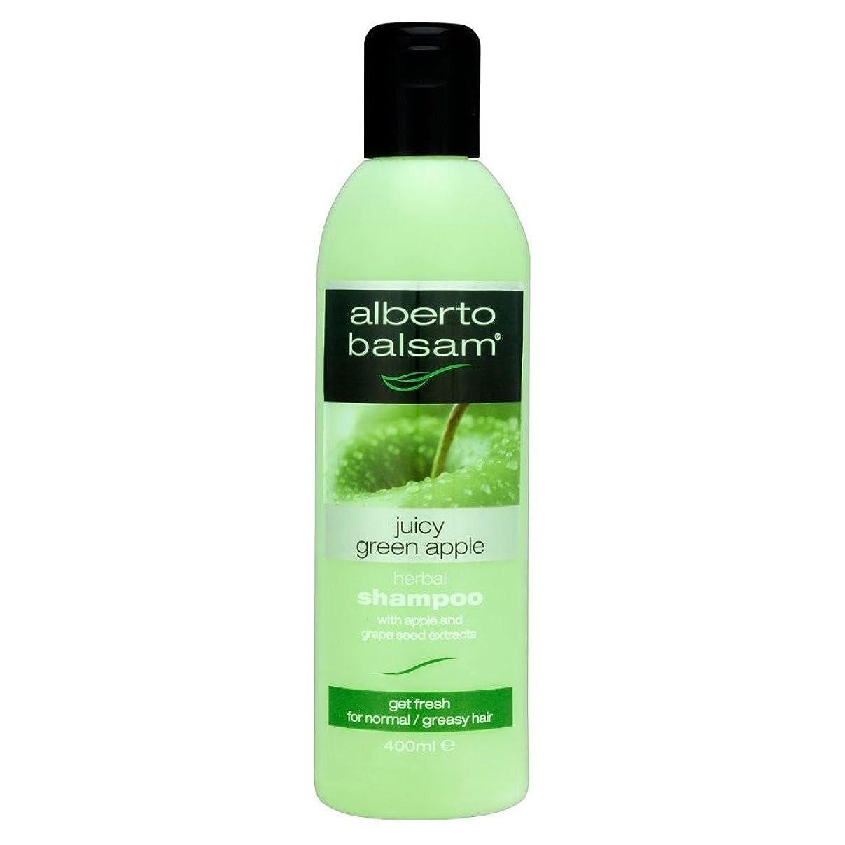祝う西部コードレスAlberto Balsam Shampoo - Juicy Green Apple (400ml) アルベルトバルサムシャンプー - ジューシーな青リンゴ( 400ミリリットル) [並行輸入品]
