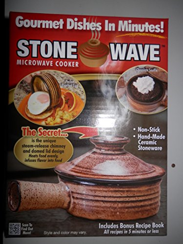 4 Telebrand Stone Wave Microwave Cooker As Seen On Tv Gourmet Dishes In Minutes Non Stick Hand Made Ceramic Stonneware Buy Online In Cayman Islands At Cayman Desertcart Com Productid 12854191
