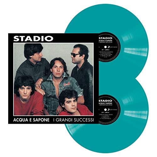 Acqua E Sapone - I Grandi Successi (140 Gr. Vinyl Blue Sleeve Limited Edt.)