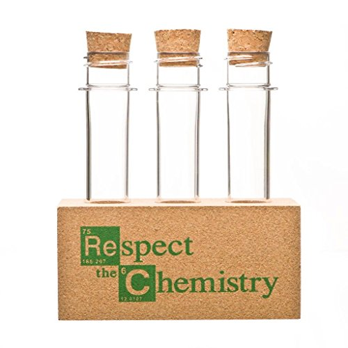 """Spice Rack inspired by Breaking Bad - """"Respect the Chemistry"""""""
