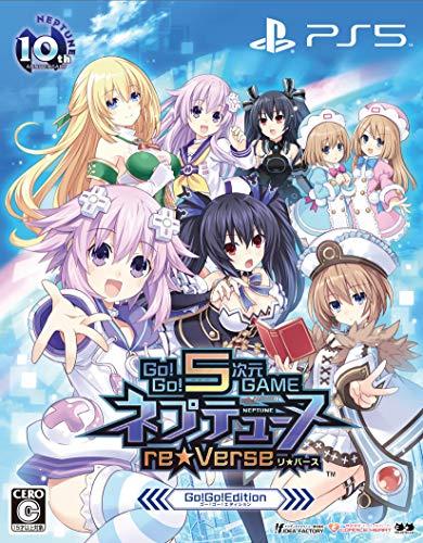 Go!Go!5次元GAME ネプテューヌre★Verse Go!Go!Edition - PS5 (【特典】描き下ろしオリジナル収納BOX、メモリアルアートブック、プレミアムサウンドトラック(25曲)、ねぷねぷデコステッカー 同梱)