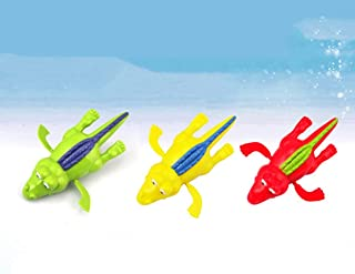Swiftswan Baby Cute Turtle Fish Animal Bath Toy Fun Spring Swimming Turtle Creative Bathtub Game For Kids Boys Girls