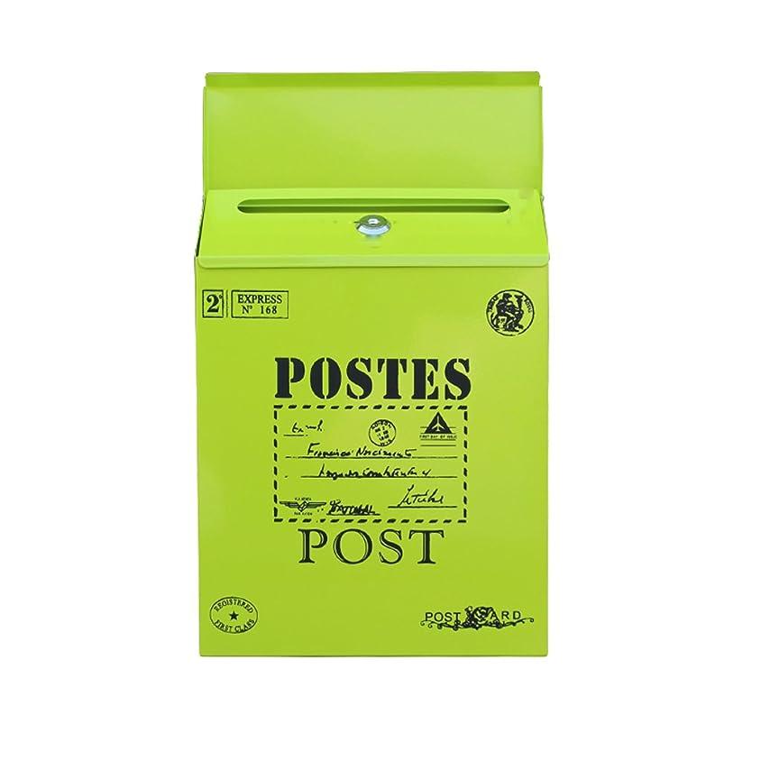 かんがい寝具陸軍KTYX 提案箱金属箱防水ヨーロッパの防水ポストボックス創造的なレターボックスの壁の屋外メールボックスの牧歌的なボックス メールボックス