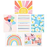 Sweetzer & Orange Thinking of You Cards with Envelopes. Set of 24 Boxed Greeting Cards Thinking Of You Assortment. Blank 300gsm Note Cards and Envelopes (120gsm). Just Because Cards and Kindness Cards