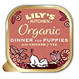 Lily's Kitchen Puppy Recipe Organic Wet Dog Food, 11 x 150g