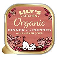 Nutritionally complete and natural wet food for puppies (8 weeks +) Freshly prepared with proper meat: 28 Percent chicken, 12 Percent pork, 10 Percent beef and 7 Percent fish All natural, certified organic ingredients This puppy food packed with whol...