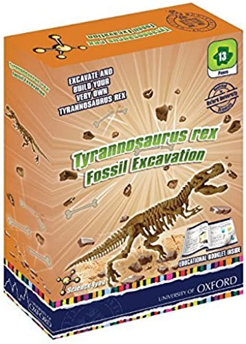 Oxford Tyrannosaurus Rex Fossil Excavation by Oxford