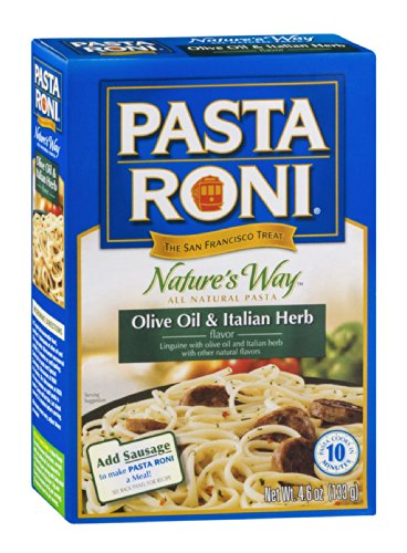 Pasta Roni Nature's Way Olive Oil & Italian Herb, 4.6 OZ (Pack of 12)