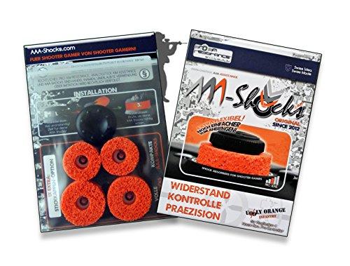 AAA-Shocks (Original Analogstick Aim Assistance Stossdämpfer Zielhilfe für Shooter Games): Uggly Orange Infantry für Nacon Revolution Pro Controller