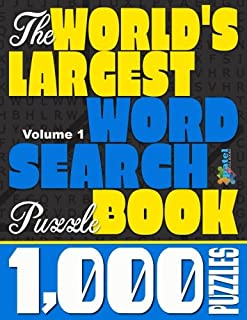 The World's Largest Word Search Puzzle Book: 1,000 Puzzles (Vol. 1)
