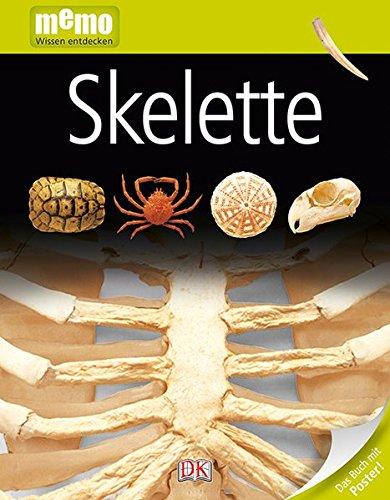 memo Wissen entdecken. Skelette: Das Buch mit Poster!