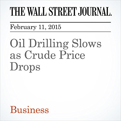 Oil Drilling Slows as Crude Price Drops audiobook cover art