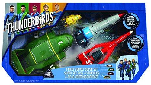 Thunderbirds - 90294.5200 - Super Set avec 4 véhicules