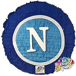 Pignatta a tema NAPOLI (pentolaccia, piñata), gioco della pignatta per piccoli tifosi del Napoli squadra di calcio. Person...