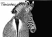 Tierisches (Wandkalender 2022 DIN A2 quer): Eindrucksvolle Tierbilder (Monatskalender, 14 Seiten )