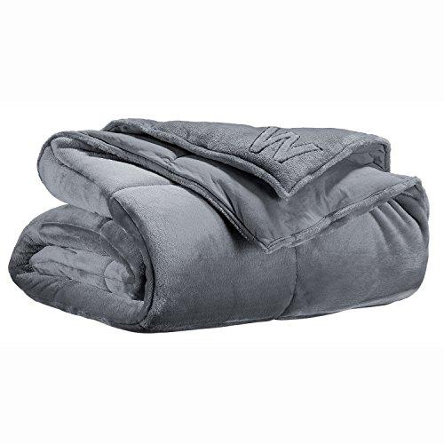 Winkler ~ Cocoon grijze polyester sprei 230x250