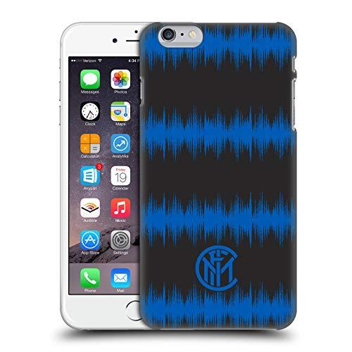 Head Case Designs Licenza Ufficiale Inter Milan Audio Wave Grafici Cover Dura per Parte Posteriore Compatibile con Apple iPhone 6 Plus/iPhone 6s Plus