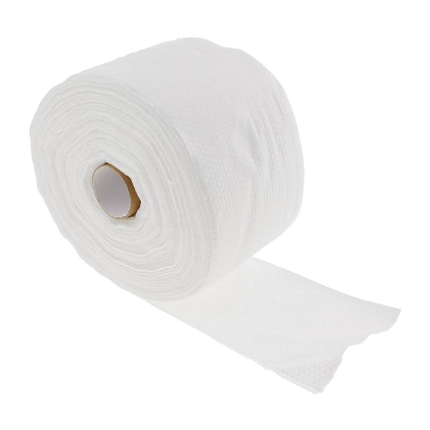誘発する投資ぴかぴかCUTICATE 1ロール30メートル使い捨てタオル繊維クレンジングフェイシャルワイプメイクリムーバー - #2