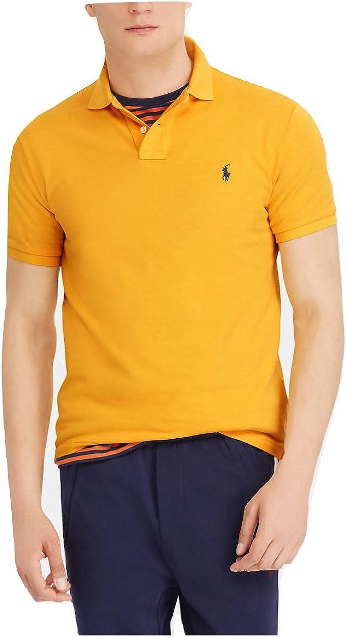 Polo Ralph Lauren Men's Slim Fit Cotton Pique Mesh Polo Shirt
