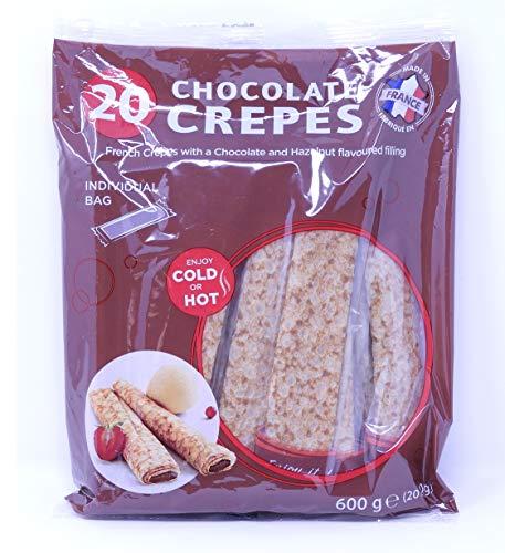 【大人気!】常温保存可能なチョコクレープ 20本入り フランス産