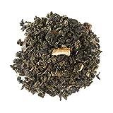 Aromas de Té - Té Azul Oolong Lima Limón - Con Té Oolong , Trozos de Lima y Aroma Natural - Té Suave - Té Azul - Fuente de Vitaminas y Nutrientes - Sin Gluten - 75 gr.