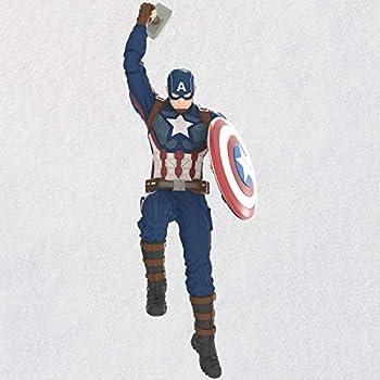 Hallmark Keepsake Christmas Ornament 2020 Marvel Studios Avengers  Endgame Captain America