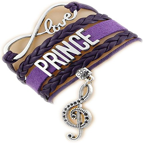 Infinity Love Prince Bracelet with Music Note Charm