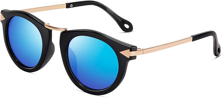 Sunglasses, Sport Sunglasses Retro Teen Men and Women Fashion Trend Arrow Sunglasses Polarizer Metal Frame Ultra Light