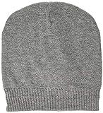 BOSS Beanie_Basic Bonnet, Gris (Medium Grey), Unique (Taille Fabricant: ONESI) Homme