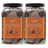 Tara's Small Batch Chocolate Covered Sea Salt Soft Caramels, Milk 62...
