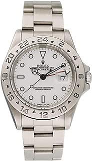 Rolex Explorer II 自動巻き メンズ腕時計 16570 (認定中古品)