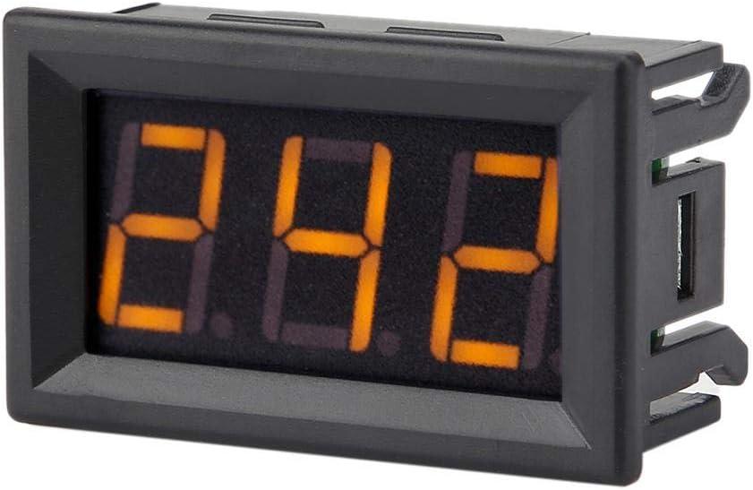 Voltage Tester Professional Digital Voltmeter LED Display High Sensitivity Meter AC 70-380V Volt for Home for Office Font backlit red