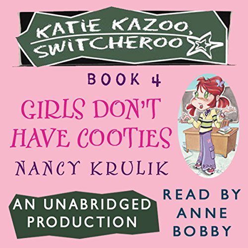 Katie Kazoo, Switcheroo #4 audiobook cover art