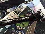 TIJA KCNC TI-PRO ALU 7075 NEGRA 27,2 X 400