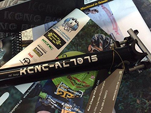 KCNC TIJA Pro ALU 7075 Negra 27,2 X 400