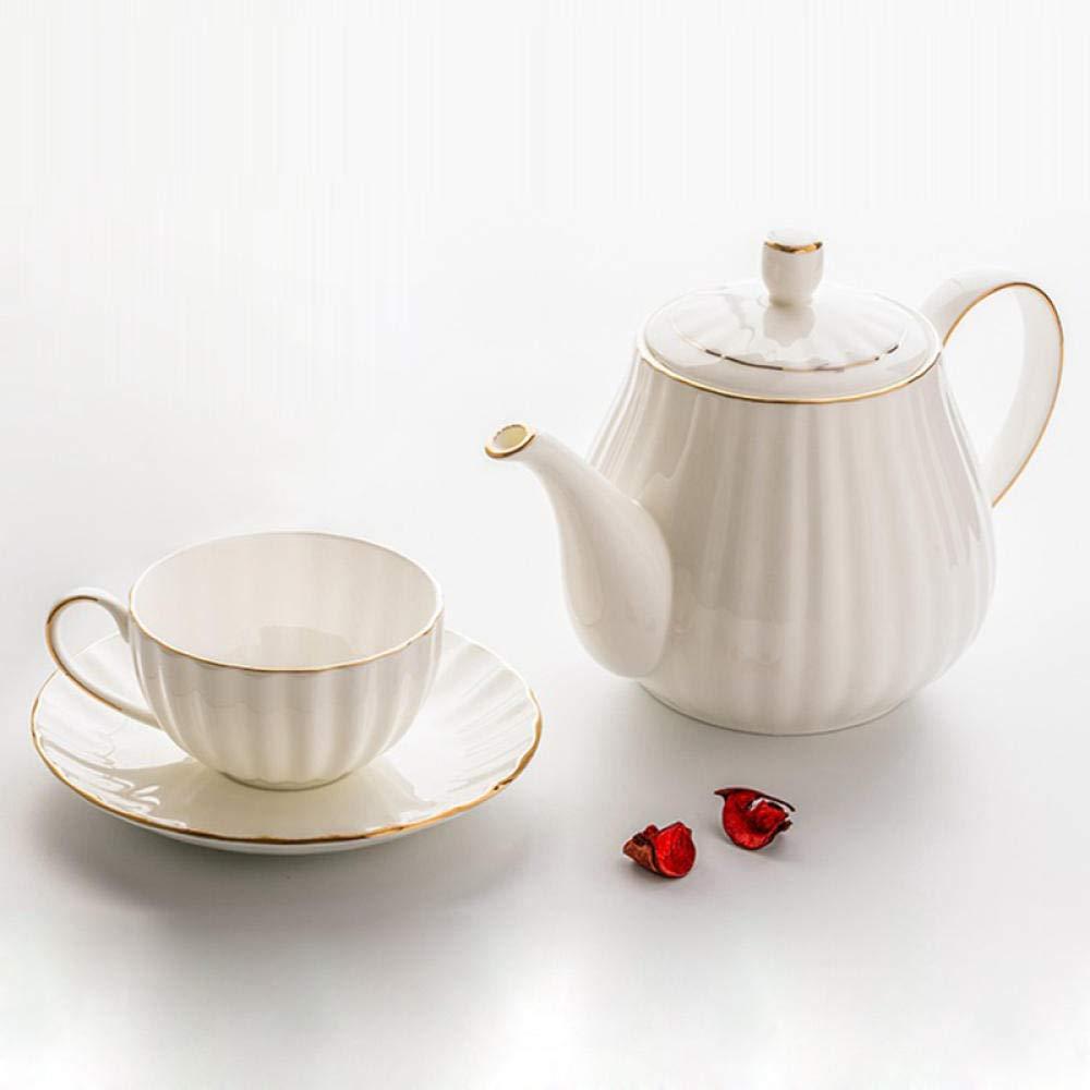 Tetera de cerámica Tetera De Porcelana Jarra de cafetera Elegante ...