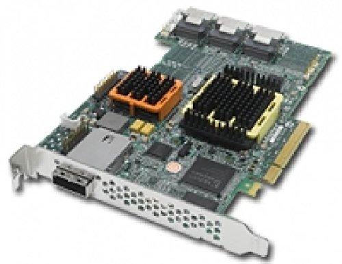 Raid 51245 SGL/T 256 SATA/SAS RAID 51245 - 16 (12 internal/4 external) ports, 8-Lane PCI-Express bus interface, RoHS