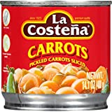 La Costena Sliced Carrots, 14.1 Ounce (Pack of 12)