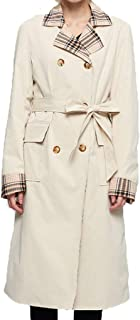 E-Scenery Coat, Women Turn-Down Collar Splice Jacket Windbreaker Outwear