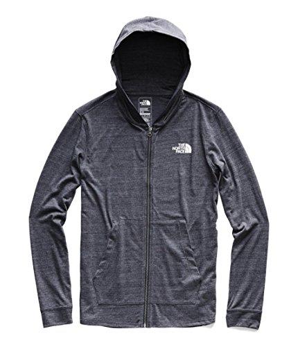 The North Face Men's Americana Tri-Blend Full Zip Hoodie - Urban Navy Heather - XL