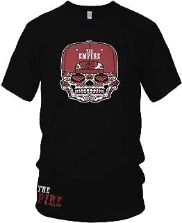 The Empire Candy Skull Black T-Shirt w/Free Sticker