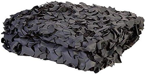 SSWZZHANG Bache,Filet de Camouflage Filet De Pur Camouflage Noir Oxford Utilisé pour épaissir La Chasse Tir Caché Camping Camping Halloween Plein air, Camping, Toit, Photographie (Taille   10m10m)